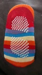 bottom sock