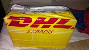 safe and secure, arrived very quickly with DHL express
