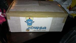Jowsa logo on the box