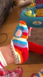 socks on 1