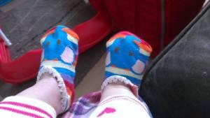 socks on 2